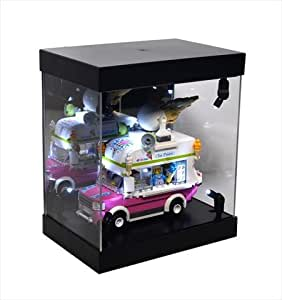 Amazon.com: KuKu Solutions Acrylic LED Lighting Display Case for
