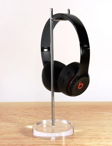 Acrylic Base Headphone Stand Headphone Display 2-in 1 (Cool Headphones Cheap compare prices)