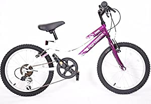 Bikes For Girls Age 6 GIRLS PURPLE WHITE AGE