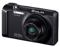 Casio Exilim EX-H30 Digitalkamera (16 Megapixel, 12,5-fach opt. Zoom, 7,6 cm (3 Zoll) Display, Akku für bis zu 1.000 Fotos, bildstabilisiert) schwarz