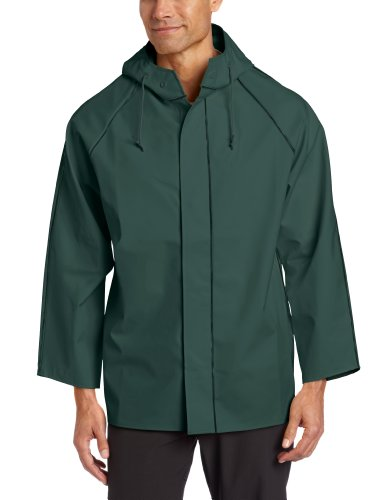 Dutch Harbor Gear Men's Quinault Rain Jacket, Green, Small (Dutch Harbor Rain Gear compare prices)