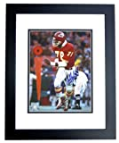 Bobby Bell Autographed Kansas City Chiefs 8x10 Photo BLACK CUSTOM FRAME at Amazon.com