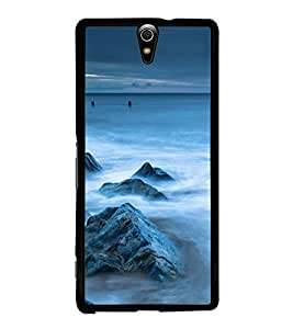 Sea Rocks 2D Hard Polycarbonate Designer Back Case Cover for Sony Xperia C5 Ultra Dual :: Sony Xperia C5 E5533 E5563