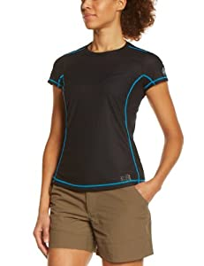Millet LD LTK T-Shirt manches courtes femme Noir/Horizon Blue XS