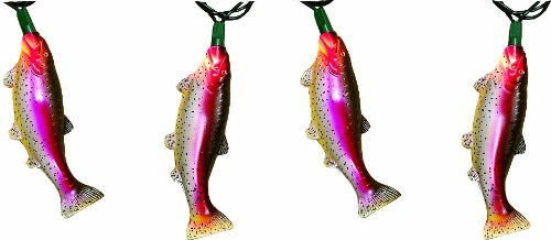 Today River's Edge Indoor/Outdoor Party Light Set-10 Piece (Trout)  Review