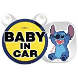 Disney LILO & STITCH  BABY IN CAR  Safe Driving Swing Message 4.7 LIMITED EDITION. FREE & FAST US SHIPPING.