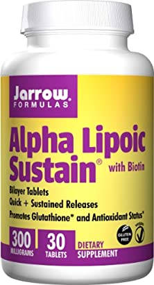 buy Jarrow Formulas Alpha Lipoic Sustain 300, Supports Cardiovascular Health, 30 Count