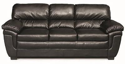 Coaster Home Furnishings 502951 Casual Sofa, Black