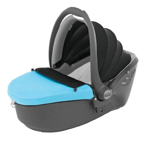 Britax Baby Safe Sleeper Group 0 Car Seat (Black/Blue)