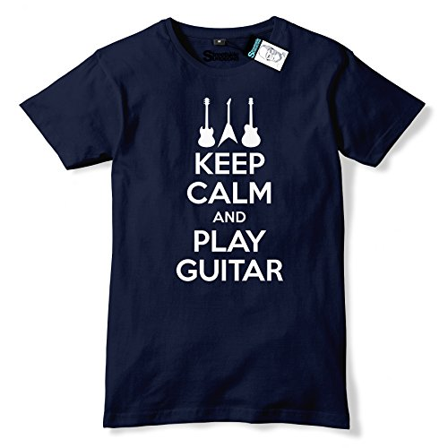 keep-calm-and-play-guitar-mens-premium-t-shirt-various-colours-sizes-large-navy-slogan-funny-clothin