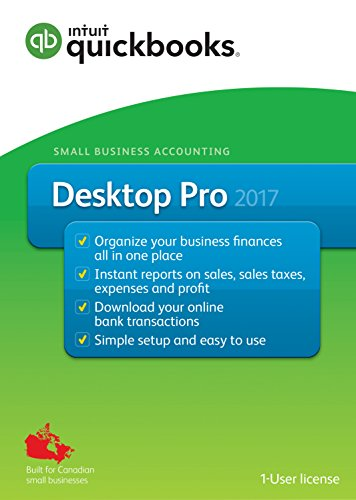 QuickBooks Desktop Pro 2017-English Accounting Software 2017