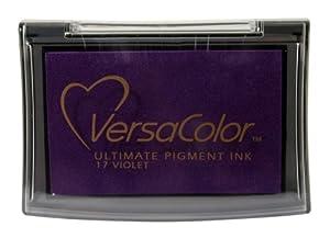 Tsukineko Full-Size VersaColor Ultimate Pigment Inkpad, Violet from Tsukineko