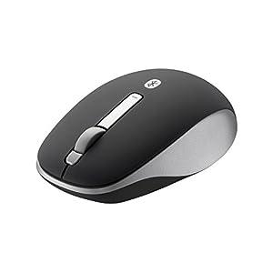 BUFFALO Bluetooth3.0対応 BlueLEDマウス 静音/3ボタン ブラック BSMBB20SBK