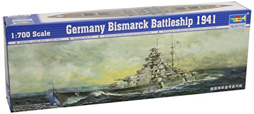 Trumpeter-05711-Modellbausatz-Schlachtschiff-Bismarck-1941
