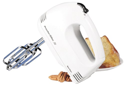 Why Choose The Proctor Silex 62515 5-Speed Easy Mix Hand Mixer, White
