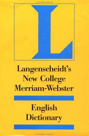 New College Dictionary Webster, Langenscheidt