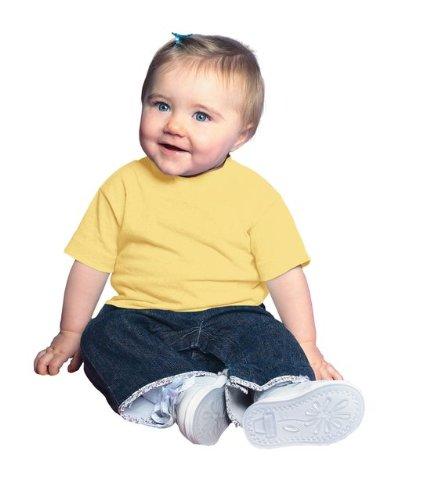 rabbit-skins-100-cotton-blank-infant-football-jersey-tee-size-24-months-banana-yellow-short-sleeve-t
