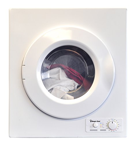 Magic Chef MCSDRY1S 2.6 cu. ft. Laundry Dryer, White (Clothes Dryer Electric Sale compare prices)