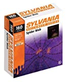 "Celebrations Inliten V39064 ""Sylvania"" Halloween Lighted Spider Web 4 with 150 Purple Bulbs"