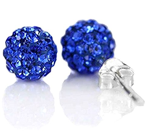 925-sterling-silver-shamballa-swarovski-crystal-10mm-size-disco-ball-studs-earrings-capri-blue