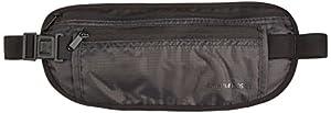 Cinturón para viaje AmazonBasics RFID color negro