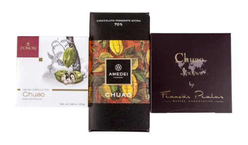 Chuao Dark Chocolate Sampler