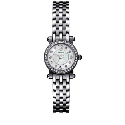Accutron Women's 26R28 Courchevel Diamond Mother of Pearl Watch