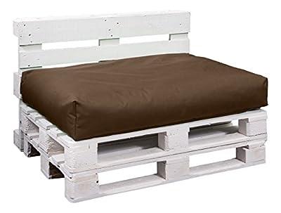 BuBiBag 6-braun-120x80x10cm Palettenkissen, Sitzauflage, 110 L, 120 x 80 x 10 cm, braun von BuBiBag auf Gartenmöbel von Du und Dein Garten