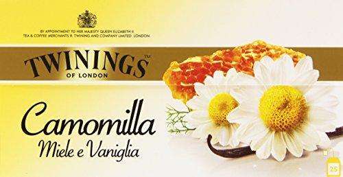 Twinings - Camomilla, Miele e Vaniglia - 25 filtri