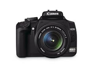 Canon EOS 400D SLR-Digitalkamera (10 Megapixel) inkl EF-S18-55