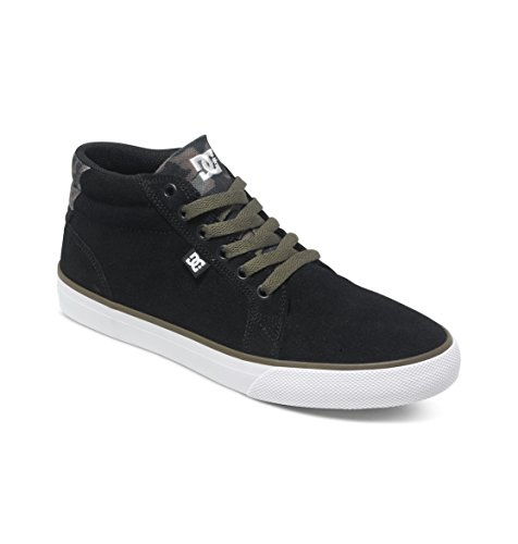 DC Shoes COUNCIL MID SD M SHOE BFY, Sneaker alta uomo, Nero (Schwarz (Black/Fluorescent Yellow BFY)), 43