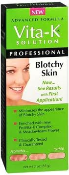Vita-K Solutions Blotchy Skin , 3-Ounce Boxes