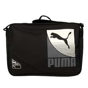 Puma Retro Shoulder Record Messenger Reporter Bag Laptop School Satchel