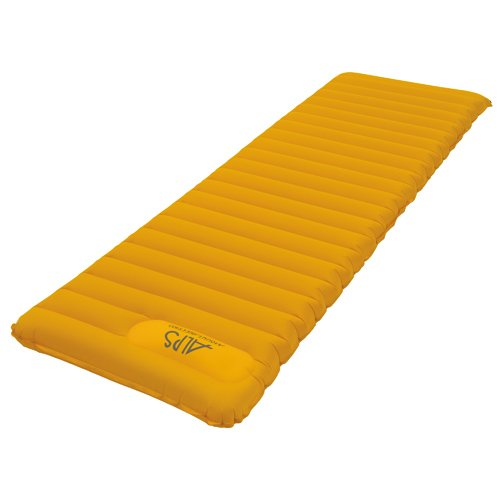 Alps Mountaineering Featherlite Series Air Pad, Gold, Regular front-305073