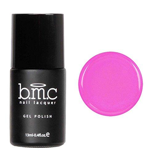 BMC Cute Clear Blendable Fuchsia Pink Sheer Tints UV/LED Soak Off Gel Polish - Mosaic Glass, Peony Blush (Clear Pink Tint Nail Polish compare prices)