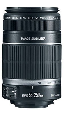Canon EF-S 55-250mm f 4.0-5.6 IS II Telephoto Zoom Lens (discontinued by manufacturer)