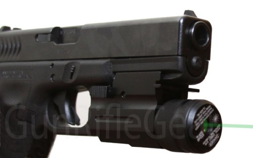 Details for Custom Qd Quick Release Interchangeable Green Laser Flash Light Combo For All Glock Sig Sauer Sw And Springfield Pistol With Tactical Picatinny Weaver Rail from FSI