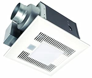 Panasonic Fv 08vqcl5 Whispersense Lite Bathroom Fan Motion