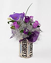 Candy Bouquet Edible Vase Full Size – Cookies and Cream