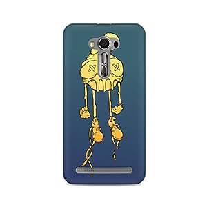 Mobicture Skull Cartoon Premium Printed Case For Asus Zenfone Selfie