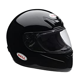 Bell Powersports Zephyr Full-Face Motorcycle Helmet (Small, Black)