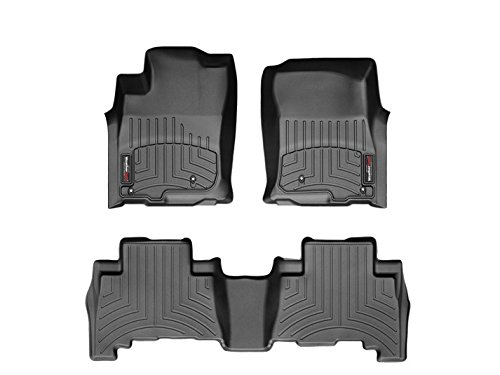 2016-nissan-titan-xd-weathertech-front-custom-fit-floor-liners-full-set-1st-and-2nd-row-black