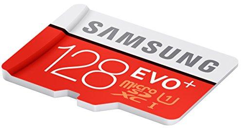 Samsung EVO+ - Tarjeta de memoria microSD de 128 GB