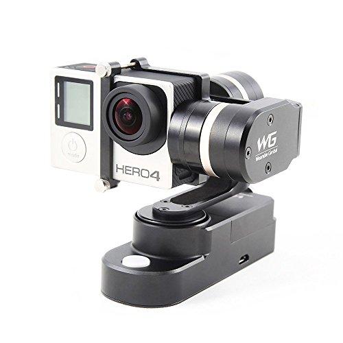 FY-WG 3軸 着用できる安定したカメラ・ジンバル・スタビライザー Gopro Hero 3 3+ 4スポーツカメラに対応