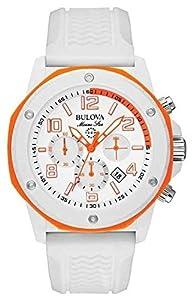Bulova 98B199 - Reloj de pulsera hombre, caucho