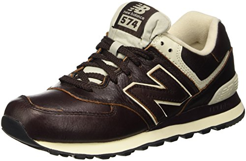 New Balance ML574LUA-574 - Scarpe Running Uomo, Marrone (Barrel Brown 211), 45 EU
