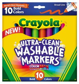 10 ct. Ultra-Clean Broad Line Markers Bold