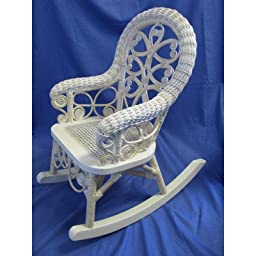 Victorian Wicker Childs Rocking Chair