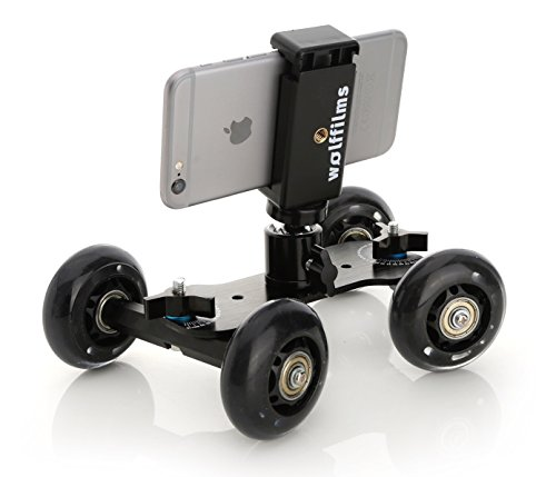 Wolffilms-iPhone-7-7-Plus-iPhone-6s-6-Plus-5s-5-4-4s-SE-CAMROVER-DSLR-Dolly-Slider-Mini-Kamerawagen