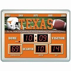 Texas Longhorns Clock - 14
